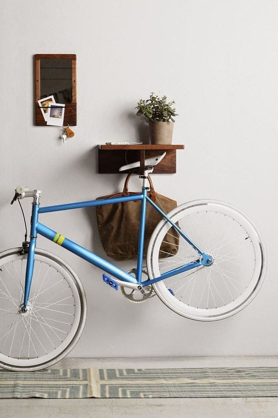 pasillo bici, decoración,